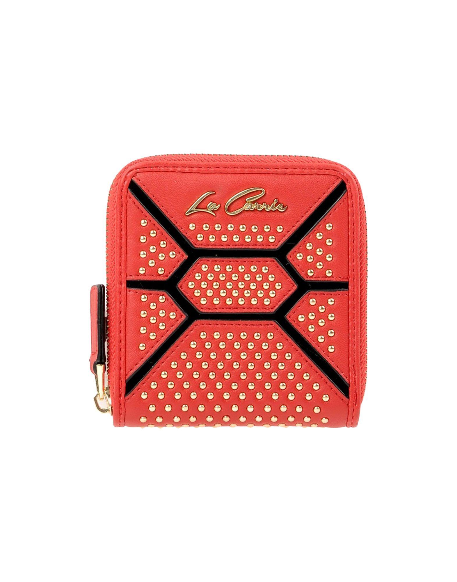 LA CARRIE BAG Damen Brieftasche Farbe Rot Größe 1