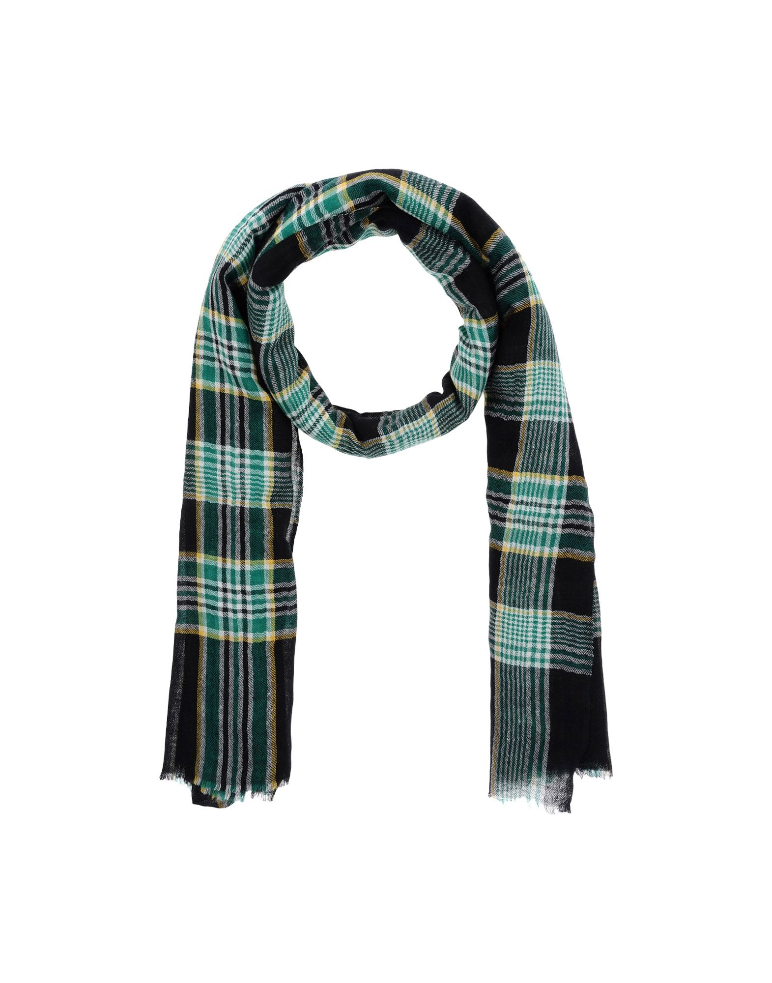 LOVAT & GREEN Scarves in Black