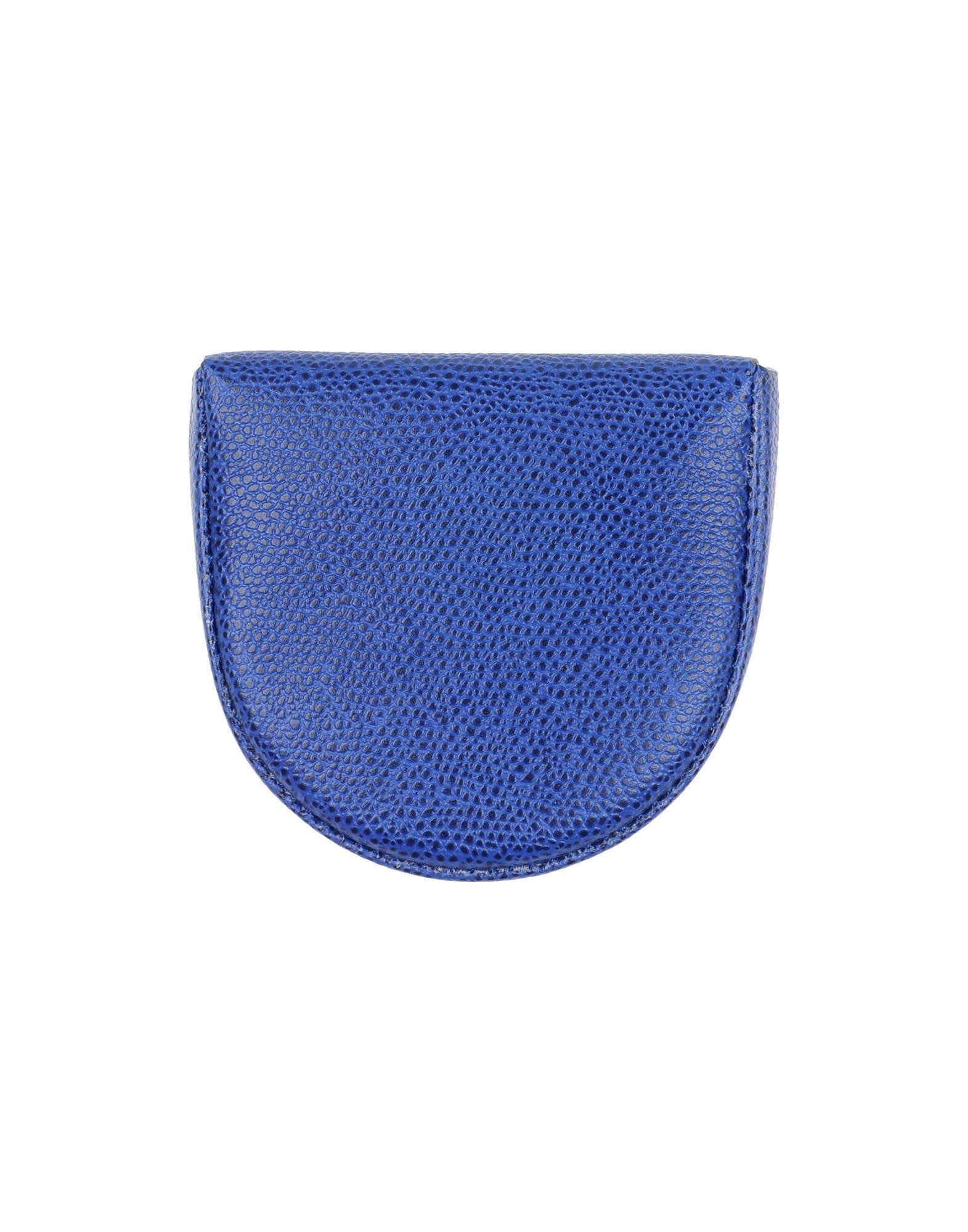 VALEXTRA Herren Portemonnaie Farbe Blau Größe 1