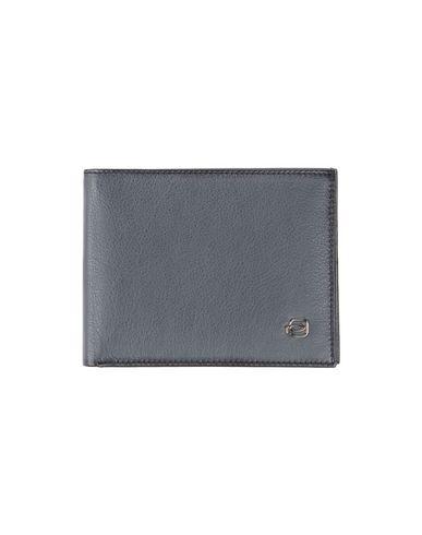 PIQUADRO メンズ 財布 スチールグレー 牛革