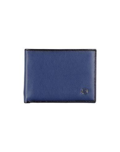PIQUADRO メンズ 財布 ブルー 牛革