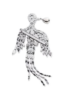 ALBERTA FERRETTI BIRD CRYSTAL BROOCH Brooch Woman d