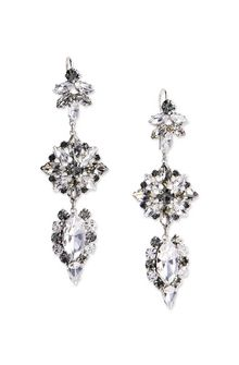 ALBERTA FERRETTI BLOOM CRYSTAL EARRINGS Earrings Woman f