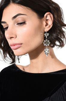 ALBERTA FERRETTI BLOOM CRYSTAL EARRINGS Earrings D r