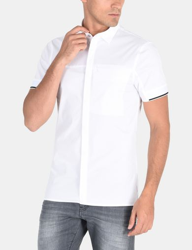 SLIM FIT STREAMLINED SHORT SLEEVE SHIRT