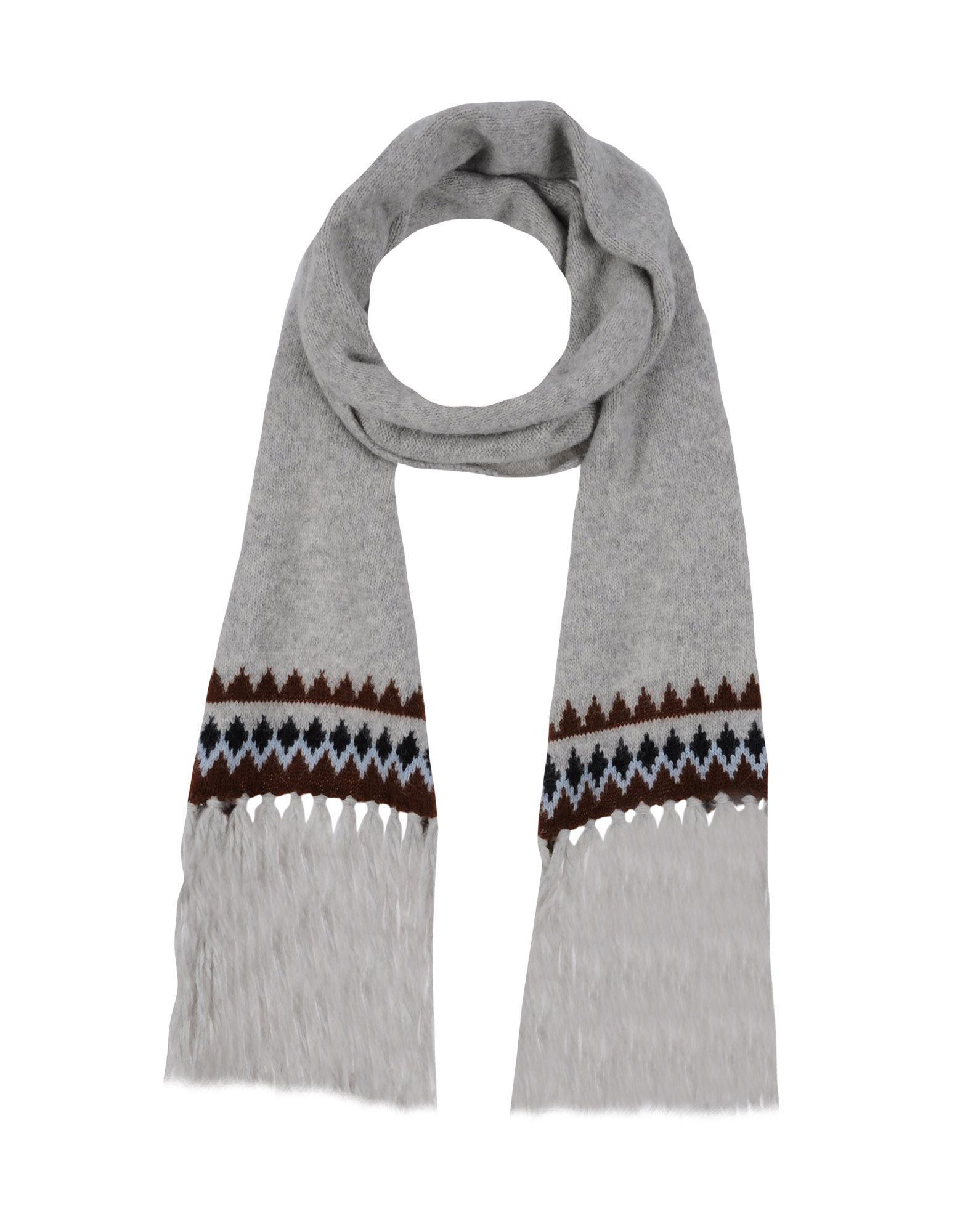AMI ALEXANDRE MATTIUSSI Scarves in Light Grey