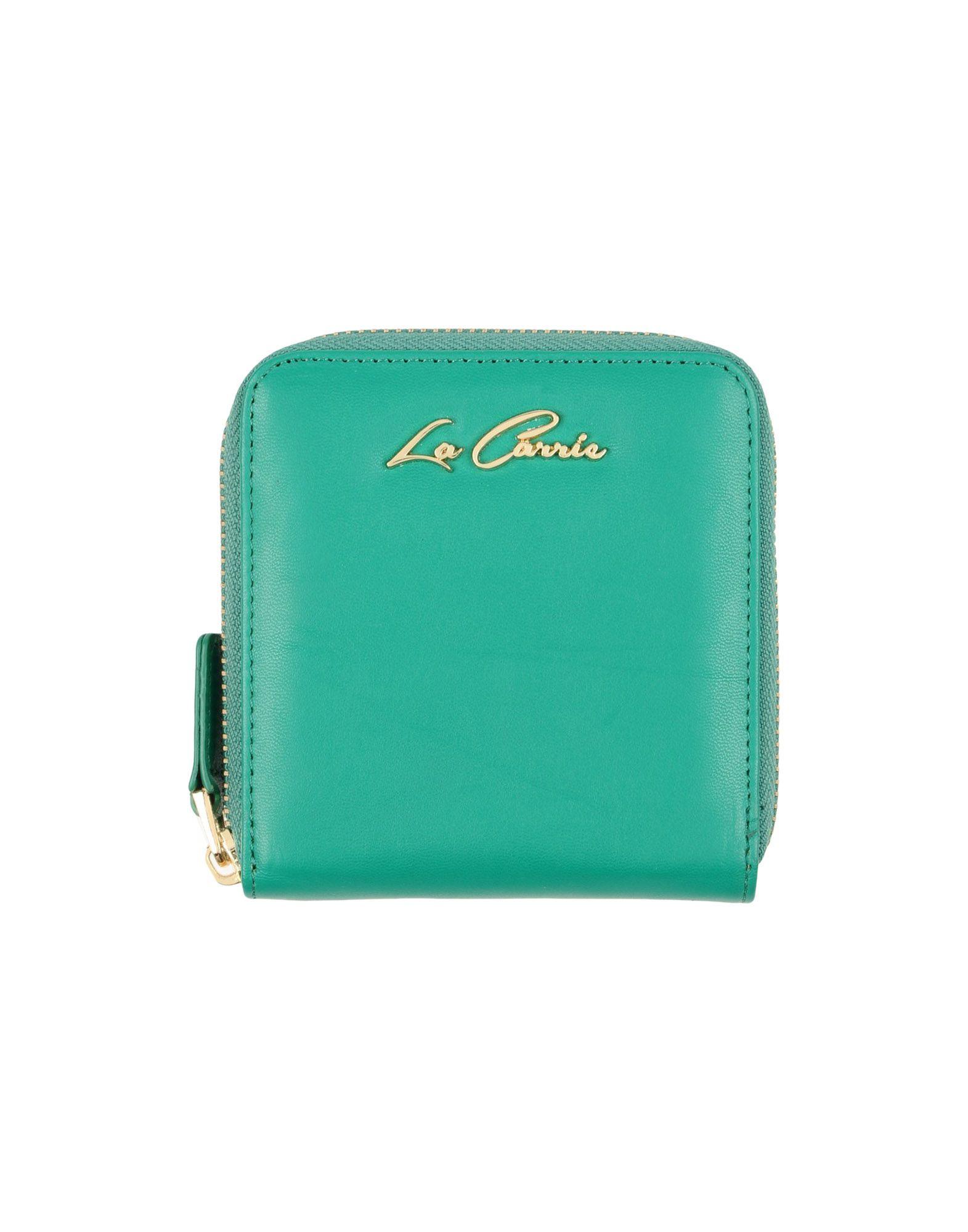 LA CARRIE BAG Damen Brieftasche Farbe Grün Größe 1