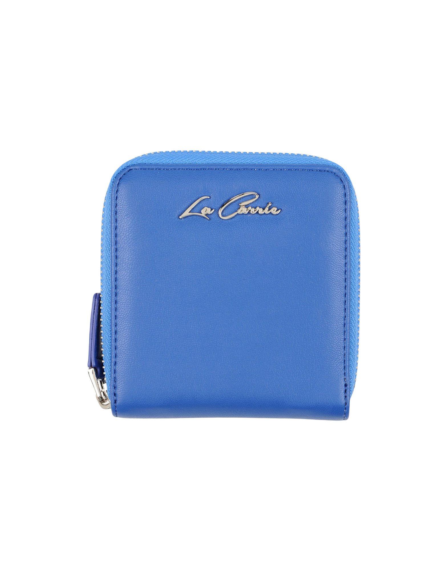 LA CARRIE BAG Damen Brieftasche Farbe Blau Größe 1