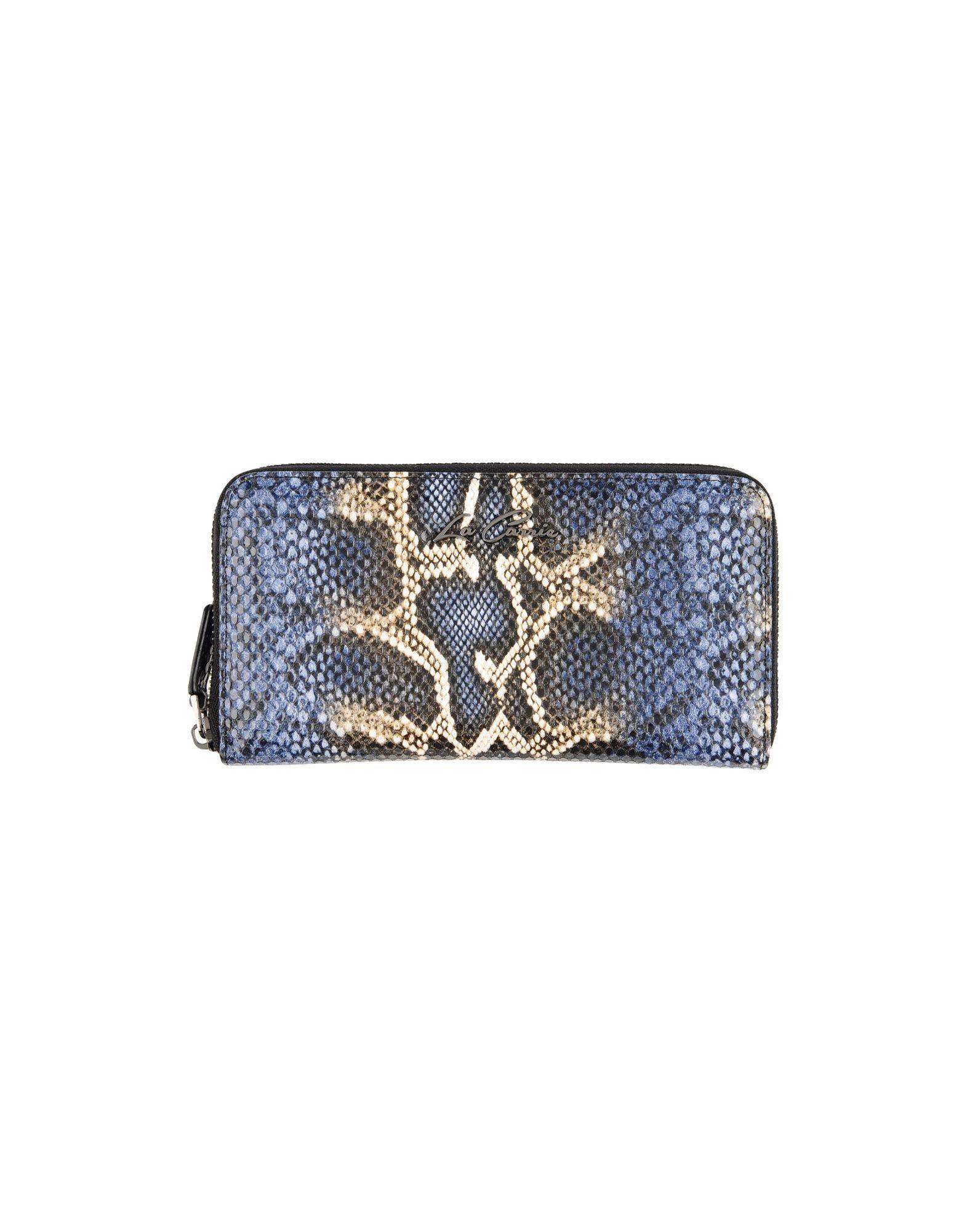 LA CARRIE BAG Damen Brieftasche Farbe Dunkelblau Größe 1
