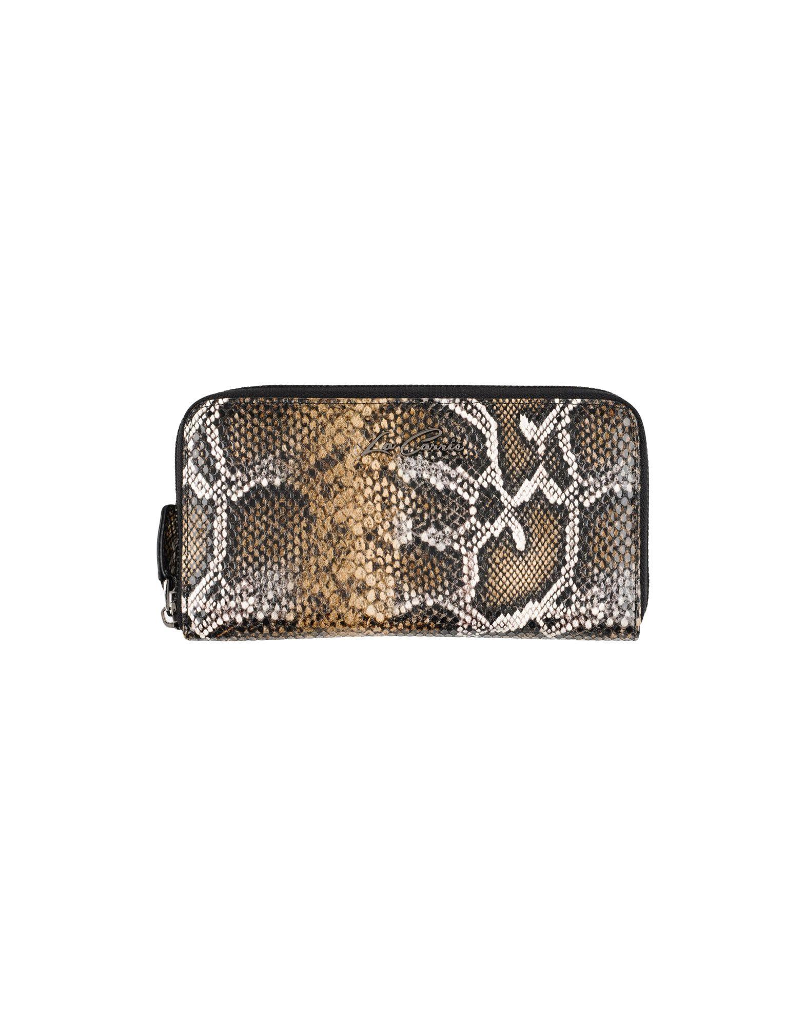 LA CARRIE BAG Damen Brieftasche Farbe Dunkelbraun Größe 1