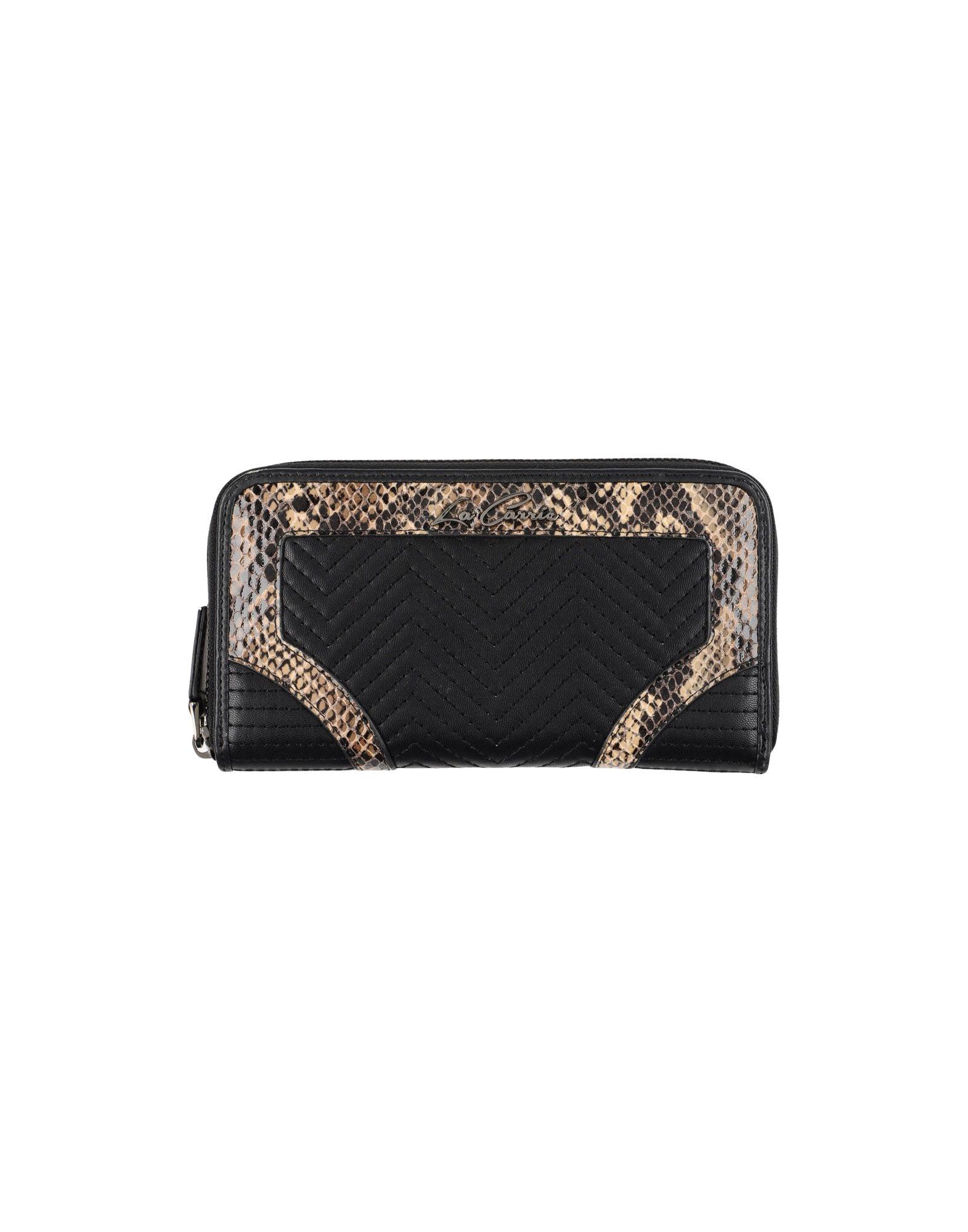 LA CARRIE BAG Damen Brieftasche Farbe Schwarz Größe 1