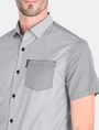 ARMANI EXCHANGE MIXED PRINT SHORT SLEEVE SHIRT Short sleeve shirt Man e