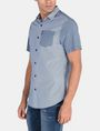 ARMANI EXCHANGE MIXED PRINT SHORT SLEEVE SHIRT Short sleeve shirt Man d