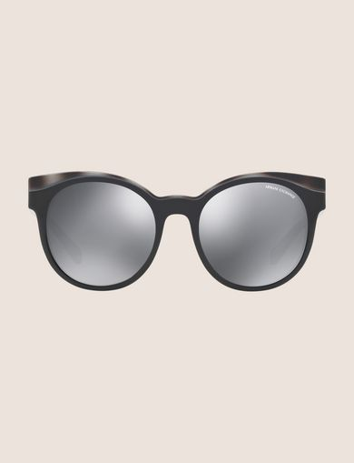 GREY TORTOISE WINGED SUNGLASSES