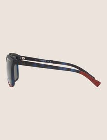 ARMANI EXCHANGE DIPPED TORTOISE RETRO SUNGLASSES Sunglass Man d