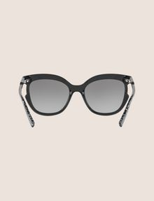 ARMANI EXCHANGE SPECKLED CUTOUT CAT-EYE SUNGLASSES Sunglass [*** pickupInStoreShipping_info ***] r