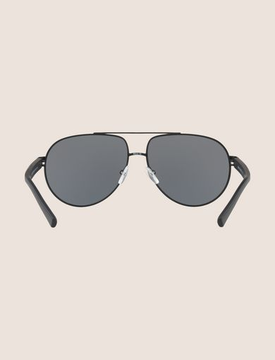 BLACK MODERN AVIATOR SUNGLASSES