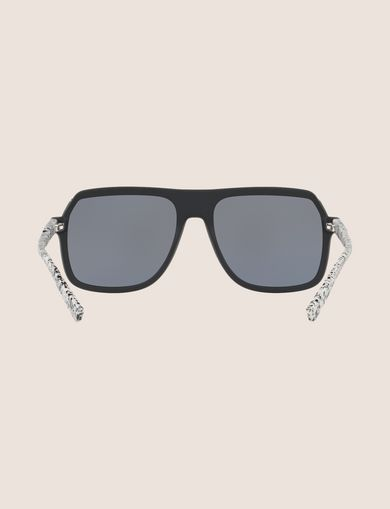 SPECKLED SQUARE SUNGLASSES