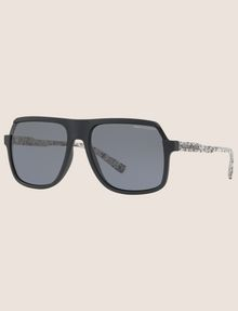 ARMANI EXCHANGE SPECKLED SQUARE SUNGLASSES Sunglass Man e