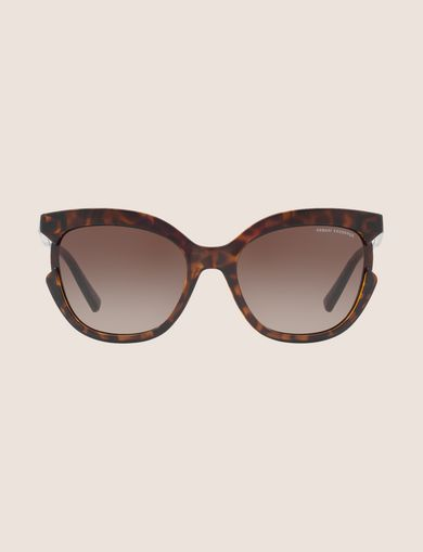 CUTOUT CAT-EYE SUNGLASSES