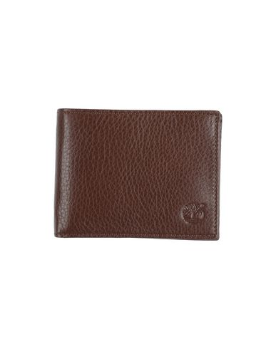 TIMBERLAND メンズ 財布 ココア 革