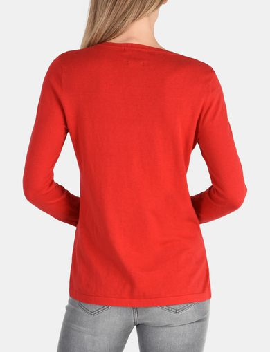 CLASSIC CREWNECK COTTON CASHMERE SWEATER