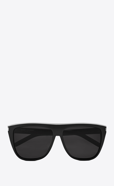 SAINT LAURENT NEW WAVE E new wave sunglasses in black a_V4