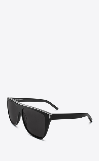 SAINT LAURENT NEW WAVE E new wave sunglasses in black b_V4