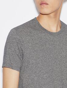 ARMANI EXCHANGE CAMISETA DE ALGODÓN PIMA CON CUELLO A LA CAJA Camiseta de algodón Pima [*** pickupInStoreShippingNotGuaranteed_info ***] b