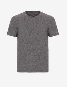 ARMANI EXCHANGE CAMISETA DE ALGODÓN PIMA CON CUELLO A LA CAJA Camiseta de algodón Pima [*** pickupInStoreShippingNotGuaranteed_info ***] r
