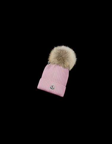 HAT Light pink Category Children's hats Woman
