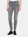 ARMANI EXCHANGE CROPPED LEOPARD SUPER SKINNY JEANS Skinny jeans Woman f