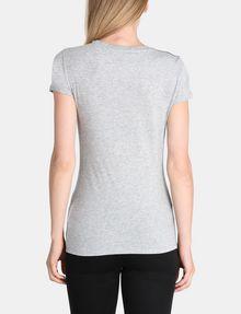 ARMANI EXCHANGE CONTRAST YOKE A|X TEE Logo T-shirt Woman r