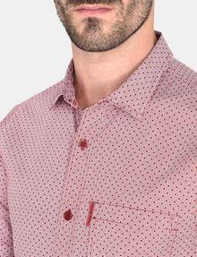 ARMANI EXCHANGE SQUARE GRID-DOT SHORT SLEEVE SHIRT Short sleeve shirt Man e