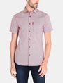ARMANI EXCHANGE SQUARE GRID-DOT SHORT SLEEVE SHIRT Short sleeve shirt Man f