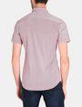 ARMANI EXCHANGE SQUARE GRID-DOT SHORT SLEEVE SHIRT Short sleeve shirt Man r