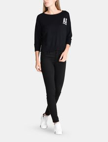 ARMANI EXCHANGE STENCIL LOGO SWEATER Pullover Woman a