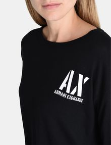 ARMANI EXCHANGE STENCIL LOGO SWEATER Pullover Woman e