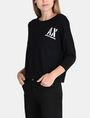 ARMANI EXCHANGE STENCIL LOGO SWEATER Pullover D d
