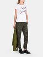 ARMANI EXCHANGE T-SHIRT MIT SCHRIFTZUG AUS MEHRFARBIGEN PAILLETTEN Logo-T-Shirt Damen a
