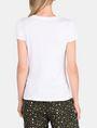 ARMANI EXCHANGE MULTI SEQUIN SCRIPT TEE Logo-T-Shirt Damen r