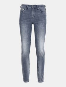 ARMANI EXCHANGE ZIP POCKET WASHED GREY SUPER SKINNY JEANS Skinny Fit Denim D b