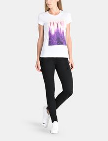 ARMANI EXCHANGE SUNSET NYC SKYLINE TEE Non-logo Tee Woman a