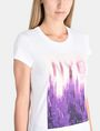 ARMANI EXCHANGE SUNSET NYC SKYLINE TEE Non-logo Tee Woman e