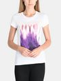 ARMANI EXCHANGE SUNSET NYC SKYLINE TEE Non-logo Tee Woman f