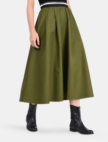 ARMANI EXCHANGE PULL-ON FULL MIDI SKIRT Langer Rock Damen d