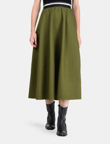 ARMANI EXCHANGE PULL-ON FULL MIDI SKIRT Langer Rock Damen f