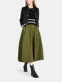 ARMANI EXCHANGE PULL-ON FULL MIDI SKIRT Langer Rock Damen a