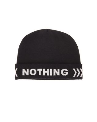 """NOTHING"" BEANIE"