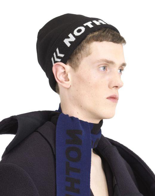 """lanvin bonnet """"nothing"""" homme"""